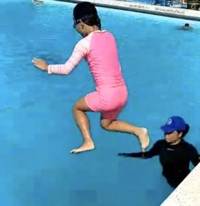 Lớp dạy bơi trẻ em kèm riêng tốt nhất tại tphcm